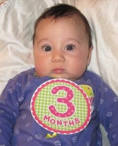 3 months? Already?