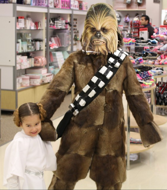 Bring your wookie shopping day!